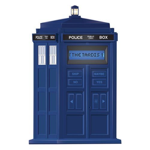 20Q Doctor Who - $25. I just discovered this last night but now I can't help but want to buy it (hint hint for someone buying me a Christmas gift). It's the classic 20 questions electronic game, except with Doctor Who related planets, people, and other things. http://amzn.to/2h0YhqZ