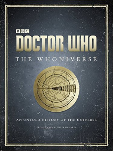 Doctor Who: The Whoniverse $40. The Whoniverse is this year's Doctor Who book to own. It covers the never before seen history of the human race. What's great about this book is that it consists of all original illustrations! - $http://amzn.to/2h64GSZ. Also available at Barnes & Noble: http://goo.gl/hWjUXV