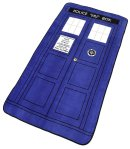 "Doctor Who Throw - $10-$30. Measures 50"" x 89"". Super Soft. I've seen these on clearance at GameStop for $9.99 or $14.99."