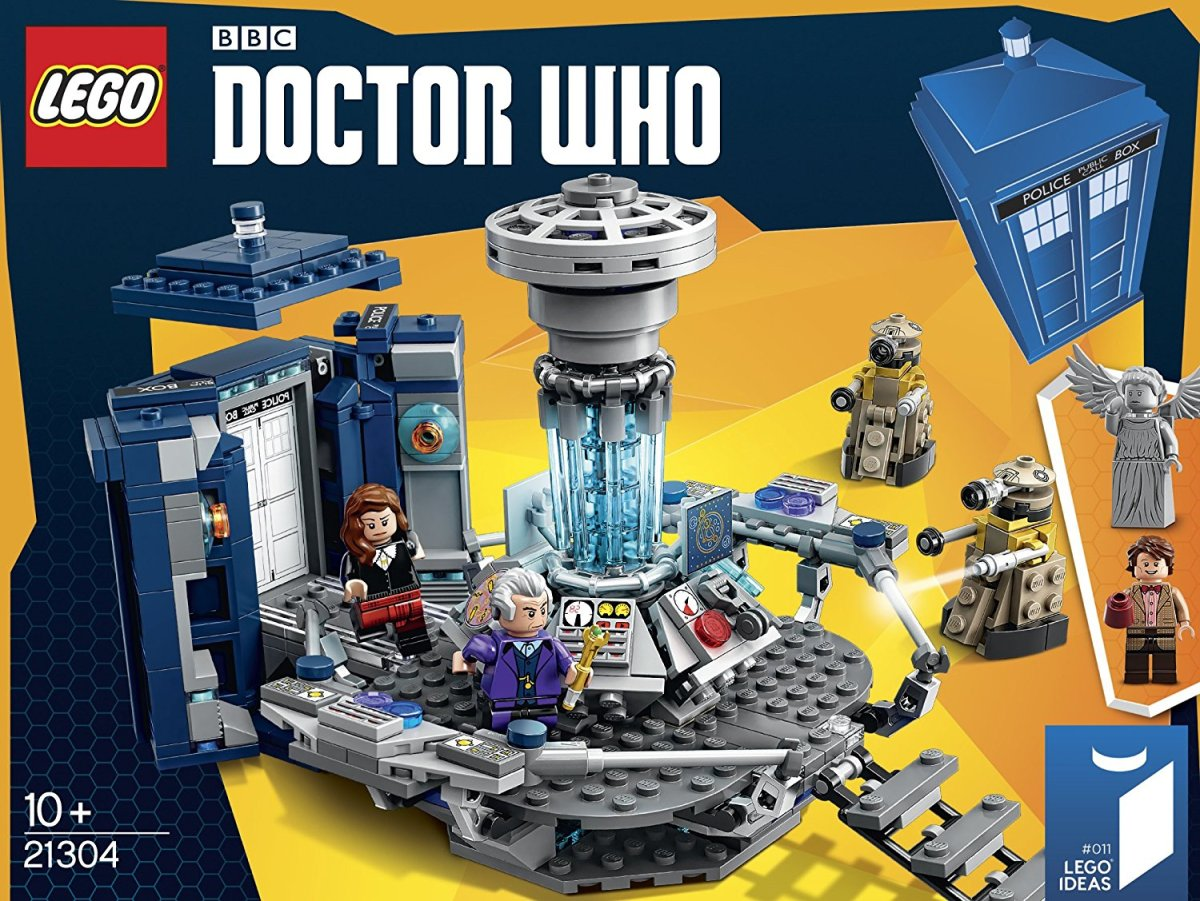 Doctor Who Lego Set - $47-$60. A fan made idea turned this set into reality. It comes with an 11th Doctor, a 12th Doctor, Clara, 2 Daleks, and a Weeping Angel. Great gift for someone who's a fan of Lego. If you visit the Lego store, it's currently on sale for $47.99. Amazon: http://amzn.to/2fYontM, B&N: http://goo.gl/Ov9OK9