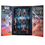 13 Doctors Set - $149. This set has been updated with the 12th Doctor and the War Doctcor. It mainly includes reissues of already existing Doctors but if you haven't picked up those variants yet, it's worth getting. Also includes the new 8th Doctor outfit. http://amzn.to/2fTh8Hs. Also available at Calendars.com: http://goo.gl/79TuDk