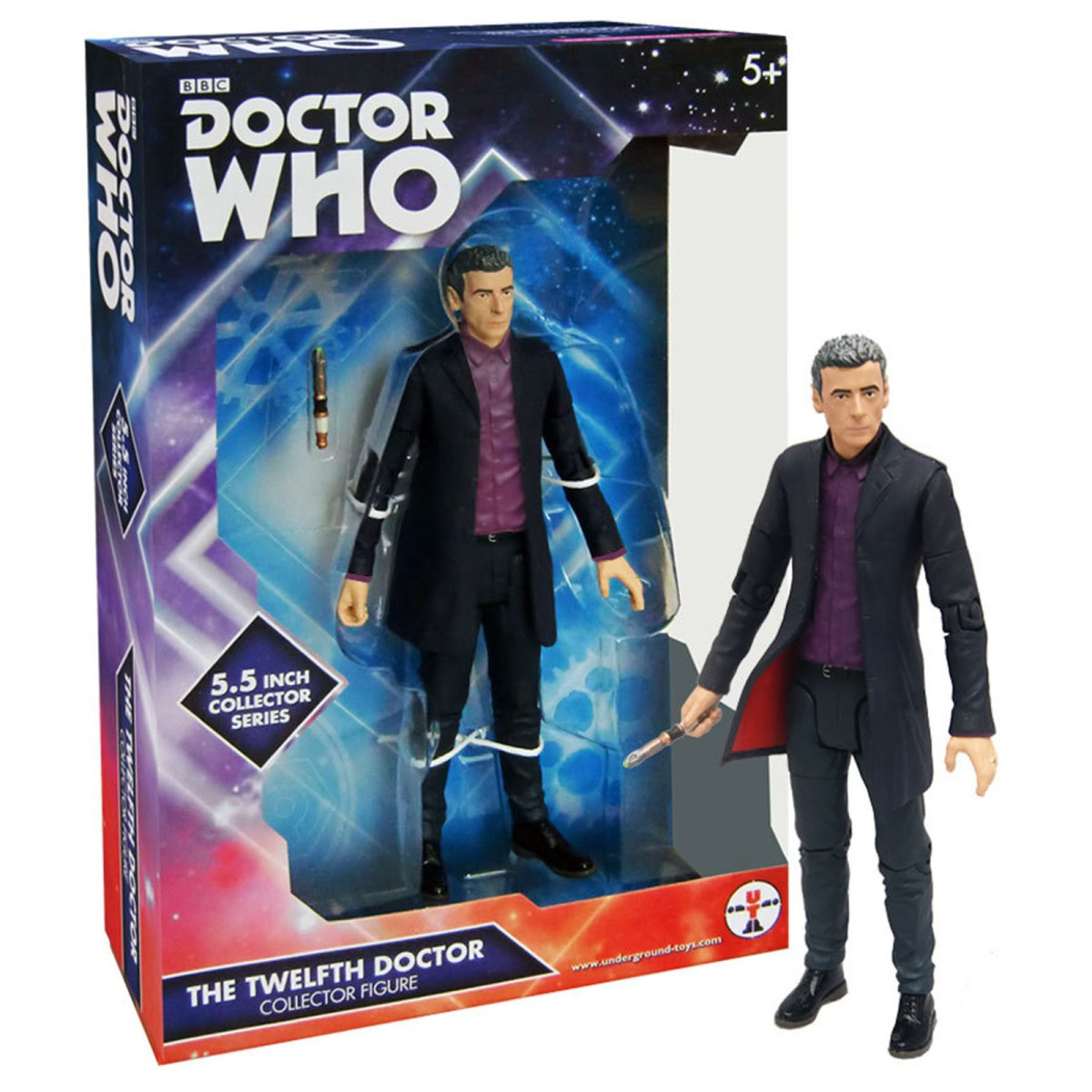 12th Doctor (Purple Shirt) - $15. A great stocking stuffer for the price. http://amzn.to/2fTdKwb