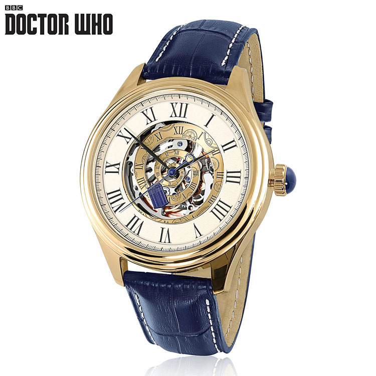 Have some money to spend on someone? You can get them  the Time Vortex Watch by Bradford. $150. Can be found here: http://www.bradford.co.uk/drwhowatch.html